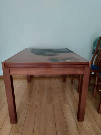 Mesa extensível para restauro