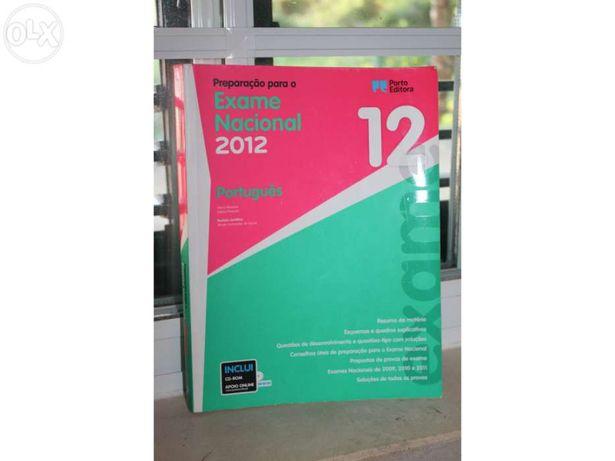 Livro exame nacional portugues 12ºano