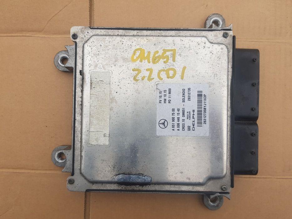 MERCEDES W204 W212 Komputer Sterownik Silnika 2.2 CDI OM651 CZĘŚCI Bydgoszcz - image 1