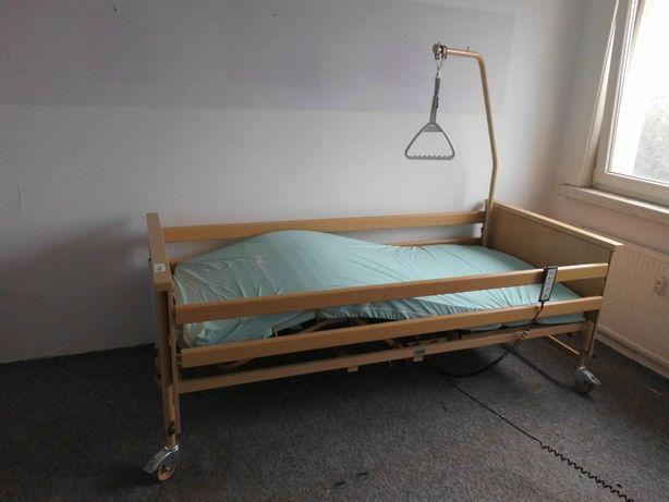 Łóżko rehabilitacyjne wielofunkcyjne na pilota materac 90x200 stelaż