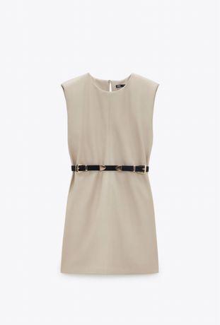 Новое платье Zara под кожу Зара