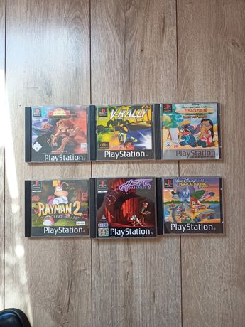 Gry PlayStation PSX