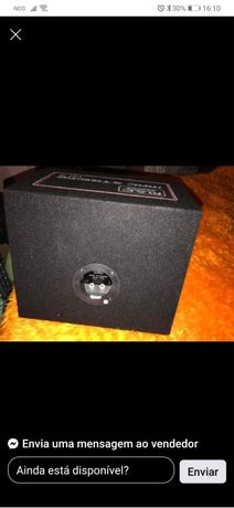 subwoofer + amplificador