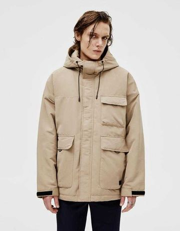 Мега стильная мужская демисезонная парка/куртка pull&bear