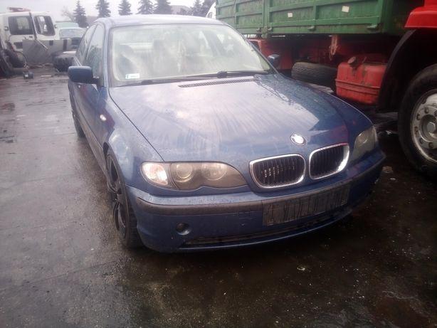 BMW E46 sedan zderzak przód i inne