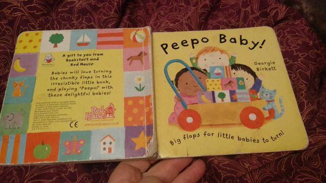КНИГА начальный английский язык картон детская