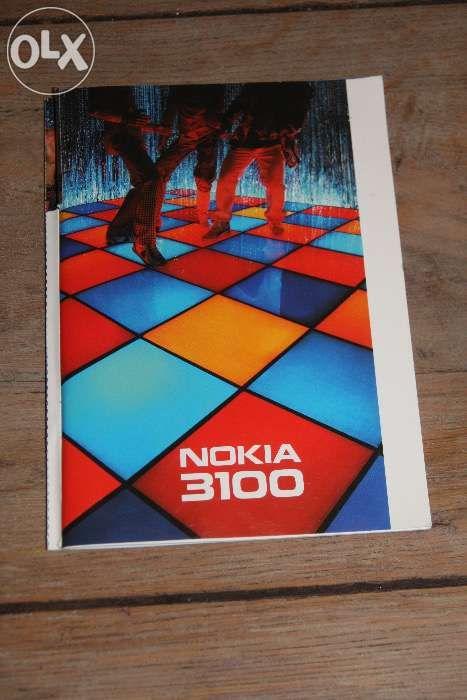 Nokia 3100 - oryginalna instrukcja obsługi PL Wrocław - image 1