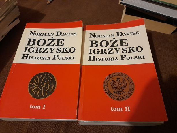Boze igrzysko. Historia Polski Norman Davis tom 1 i 2