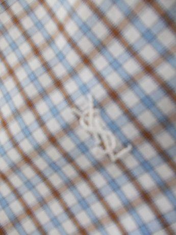 YVES SANT LAURENT koszula męska roz. XL z krótkim rękawem