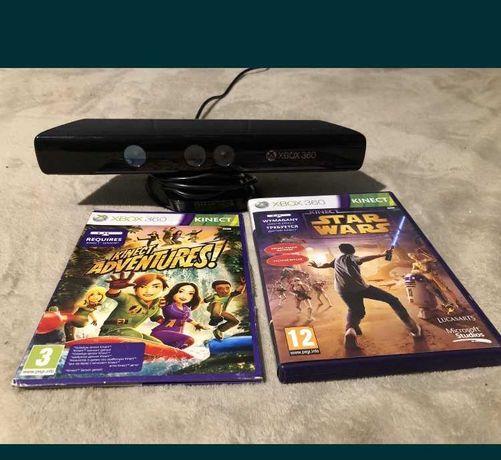 Kinect na Xbox 360 dodatkowo 3 gry