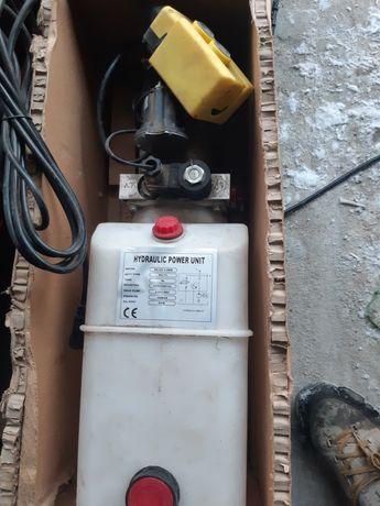 Agregat hydrauliczny pompa 12v 2kw wywrotka koper siłownik hydrauliczn