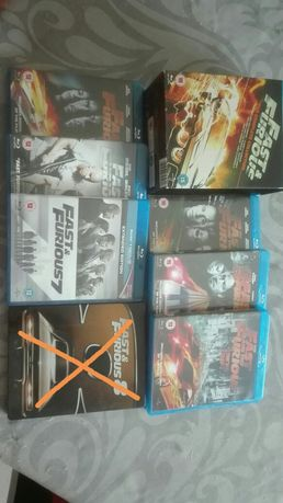 Dvds blu-ray Fast & Furious
