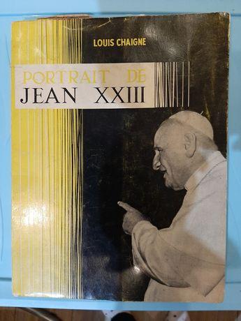 Portret Jan XXIII - Portrait de Jean XXIII Chaigne Louis po francusku