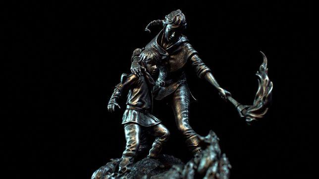 A PLAGUE TALE INNOCENCE Amicia & Hugo Silver Edition Figurka + Gra
