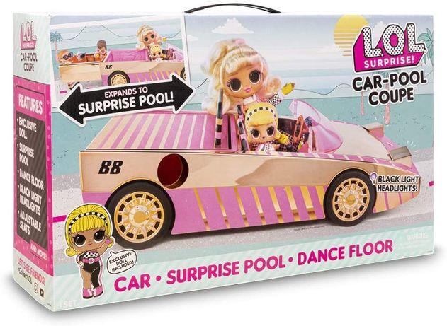 Машина кабриолет с куклой ЛОЛ, L.O.L. Surprise! Car-Pool Оригинал США