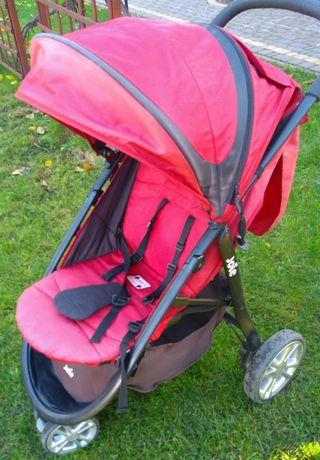 Wózek dziecięcy, spacerówka Joie + ochraniacz zimowy, śpiwór