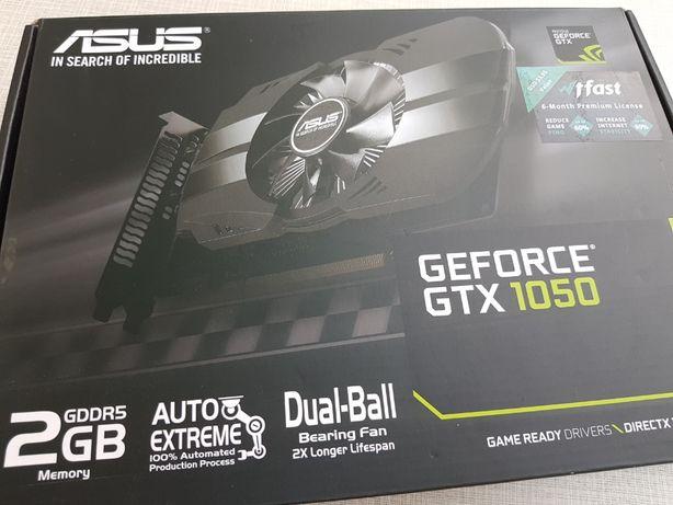Видеокарта Asus GeForce GTX 1050 Phoenix 2GB GDDR5