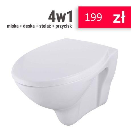 Zestaw podtynkowy Stelaż z miską 199 zł