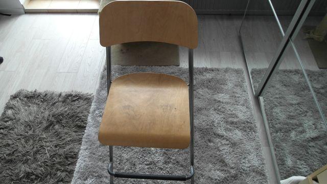 Krzesło drewniane wysokie IKEA