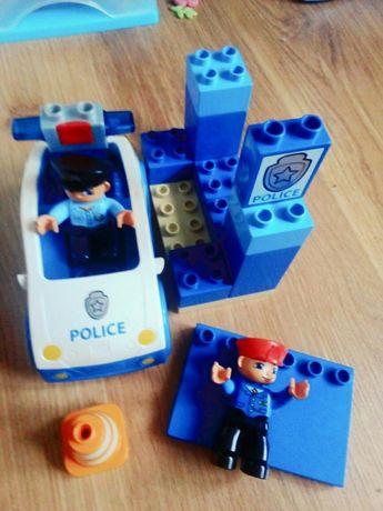 Klocki Lego duplo policja