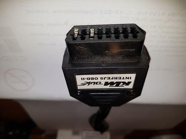 OBD-2 do KTM DUKE 125 interfejs przejściówka