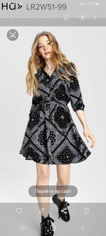 Платье из вискозы, размер 48
