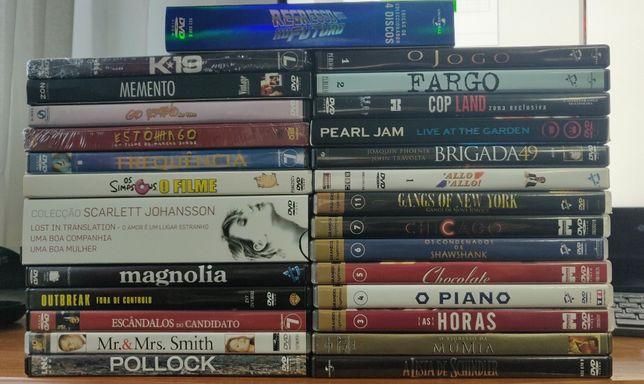 DVD's Filmes Originais