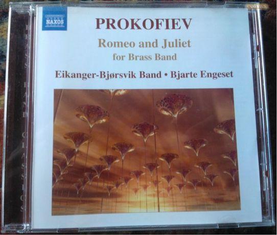 Prokofiev - Romeo and Juliet for Brass Band - Naxos - CD - Como Novo!