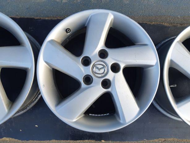 Goavto оригинальные диски Mazda 5/114.3 r16 et55 7j dia67.1 в хорошем