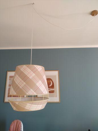 Klosz abażur ikea szwecka lampa boho vintage
