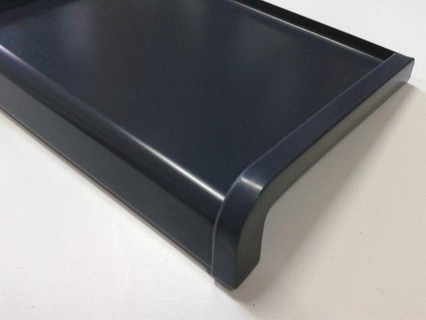 Parapety stalowe zewnętrzne softline grafit antracyt