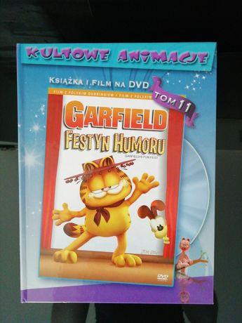 Garfield i festyn humoru książka i film DVD