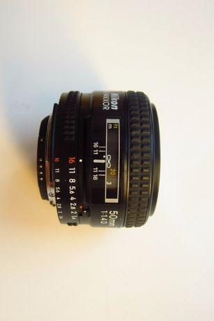 Obiektyw Nikon Nikkor 50/1.4 AF-D