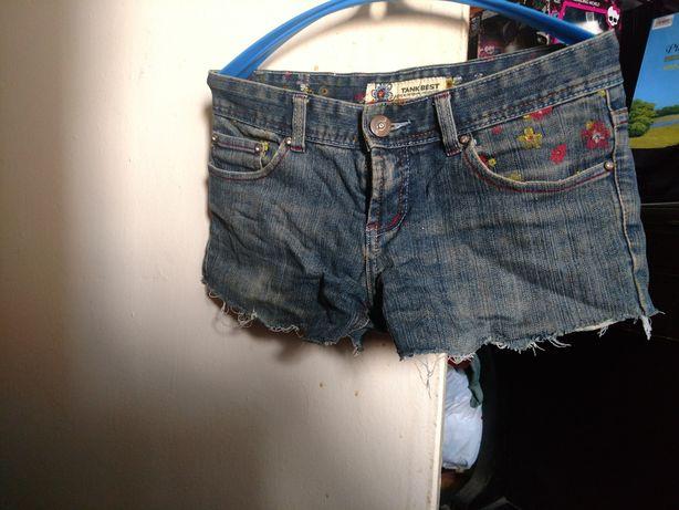 джинсовие шорты для подростков