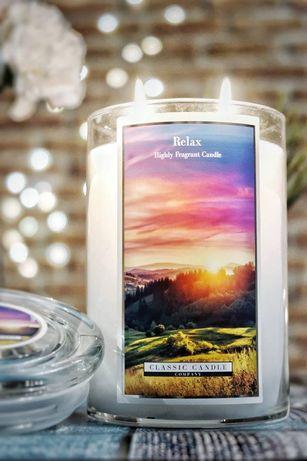 Classic Candle Relax świeca duża Yankee Goose Creek Kringle