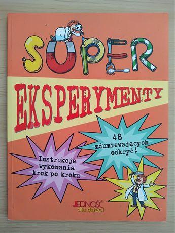 Książka - Super Eksperymenty - 48 zdumiewających odkryć