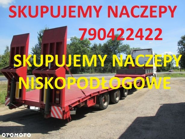 Skup Aut NACZEP CIĘŻARÓWEK Naczep Przyczep Daf Man Scania