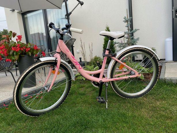 rowerek dziewczęcy 24 cale jak nowy - Kross Julia