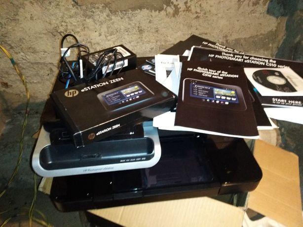 Продам 3в1+Факс МФУ HP PhotoSmart eStation C510 полный комплект