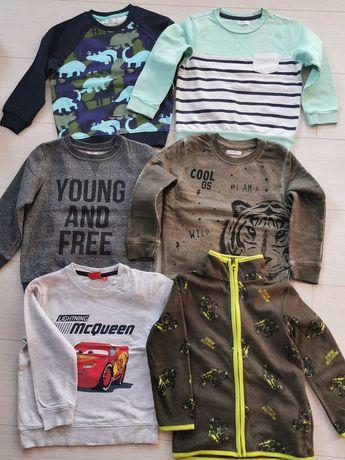 Ubranka bluza spodnie bluzki chłopiec 98 104 nowe i używane