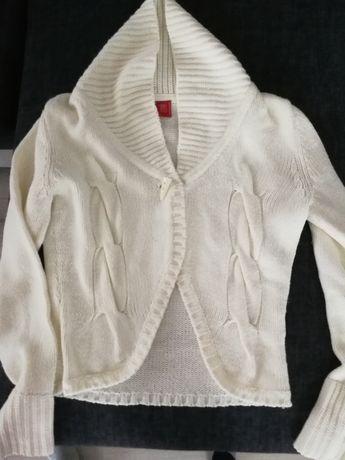 Ciepły biały sweter Tiffi