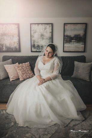 Suknia ślubna Agnes Bridal Dream 16136T Rozm. 46/48 plus size