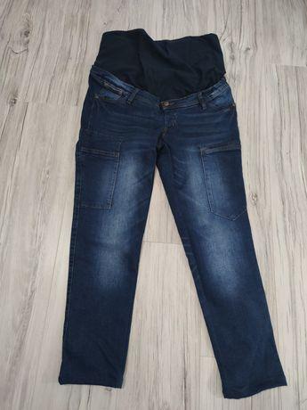 Nowe spodnie ciążowe 42 z panelem bpc collection mama jeansy