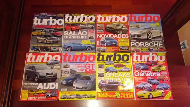Revistas TURBO (ano 2005)
