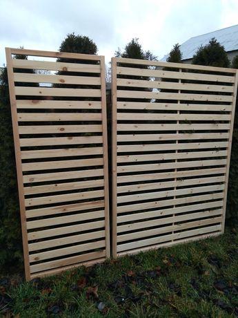Pergola panel drewniany płot