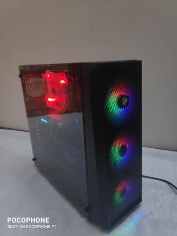 Игровой компьютер rx 570/120ssd/8gb/xeon x3470 пк