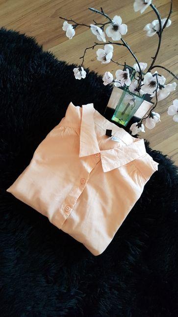 Morelowa koszula H&M roz 34 - cudowna :)