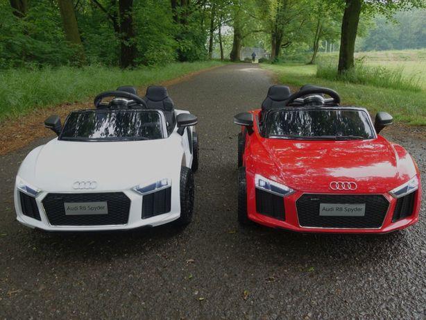 Auto Na Akumulator # Audi R8 # Licencja # Skóra # Pilot