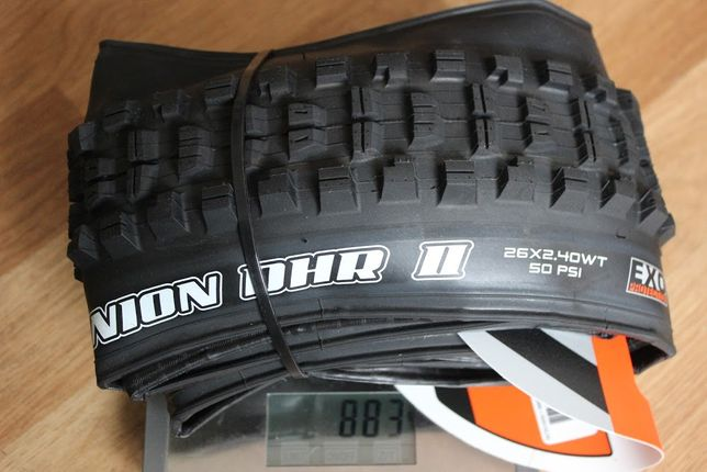 Покрышка Maxxis Minion DHR II 26x2.40 WT EXO TR ETB72910000 велосипед