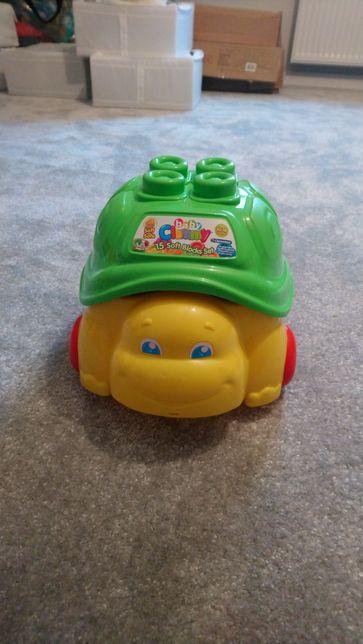 Zabawka klocki żółwik